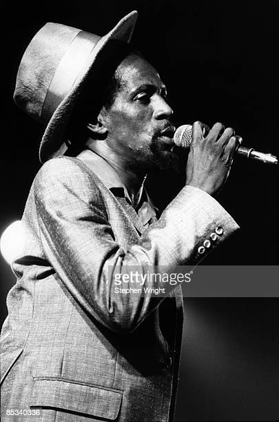 Photo of Gregory ISAACS Gregory Isaacs performing on stage