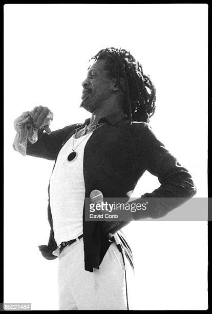 Photo of Gregory ISAACS performing at Reggae Sunsplash in Montego Bay