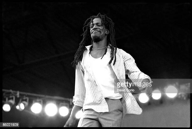 PALACE Photo of Gregory ISAACS performing at Reggae Sunsplash