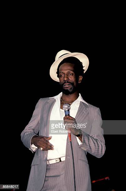 UNITED STATES JANUARY 01 Photo of Gregory ISAACS