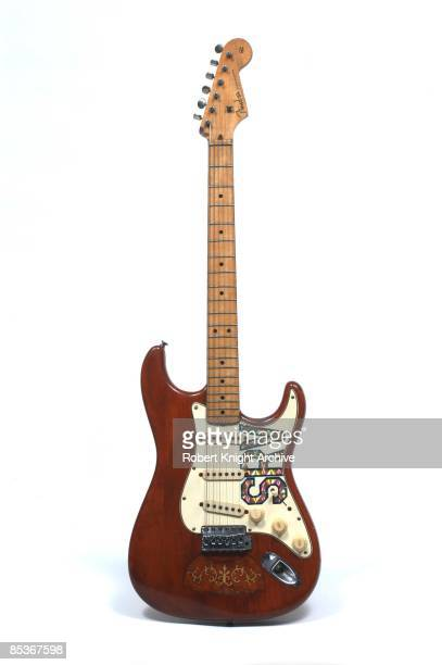 Photo of GUITAR and FENDER STRATOCASTER and Stevie Ray VAUGHAN One of his Stratocasters Lenny still life studio