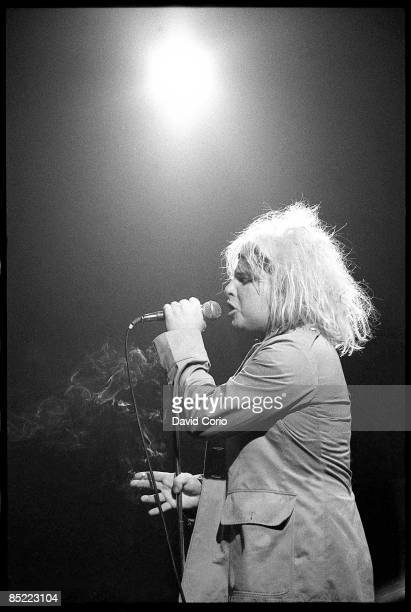 Photo of GUN CLUB Jeffrey Lee Pierce performing at The Venue London