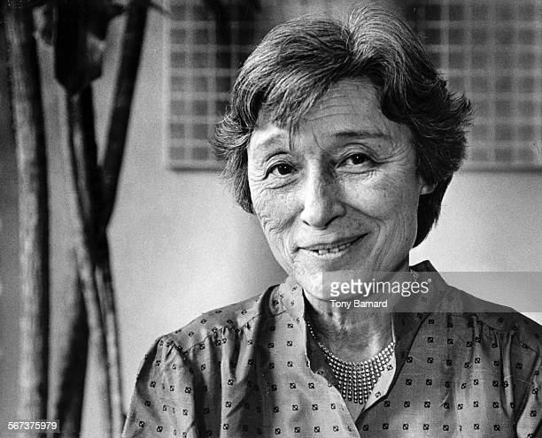 1982 photo of Han Suyin author of 'A Many Splendored Thing' for obit Suyin was her pen name Real name is Elizabeth Comber