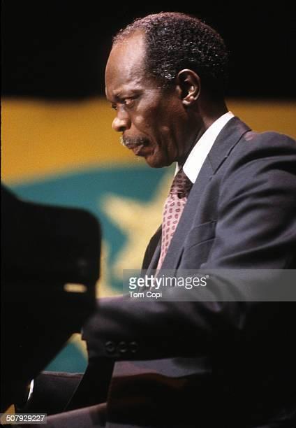Photo of Hank Jones performing in Monterey California Circa 1979