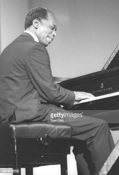 Photo of Hank Jones performing in New York New York Circa 1977