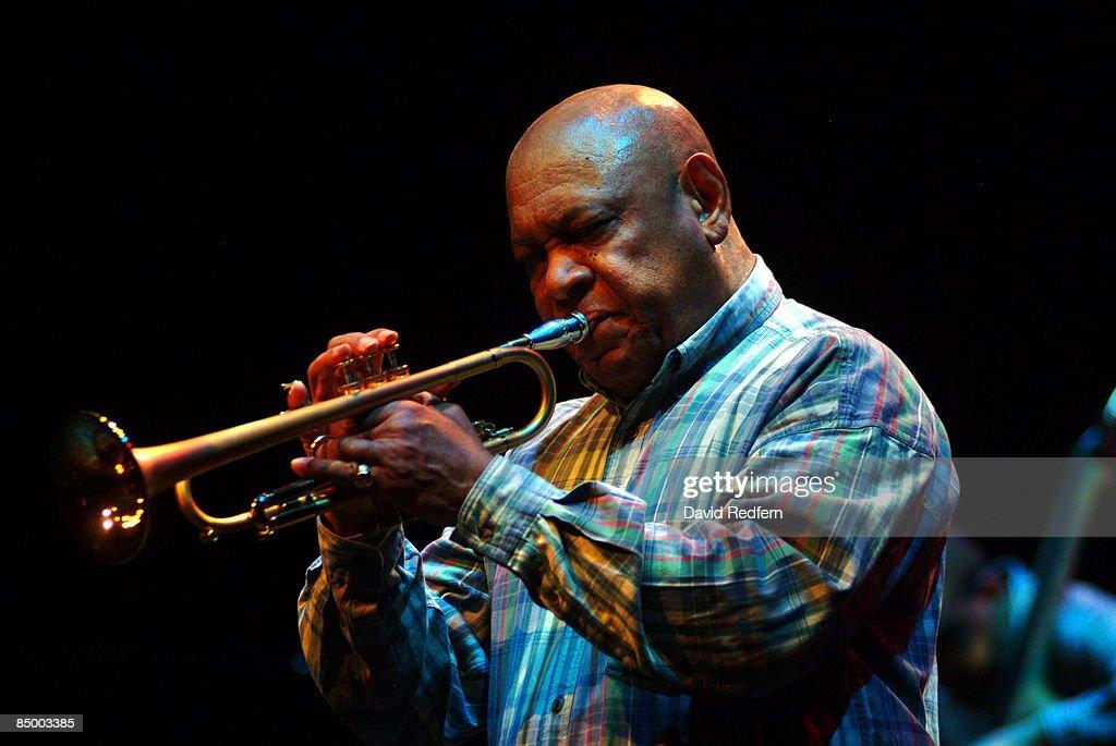 Photo of Harry BECKETT; at 'Jazz Britannia' concert