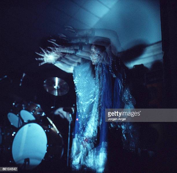Photo of HAWKWIND; Stacia, Hawkwind., Copenhagen Denmark, 1972