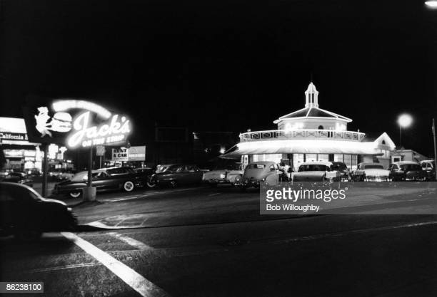 Photo of HOLLYWOOD and SUNSET BOULEVARD and 50's STYLE and SUNSET STRIP