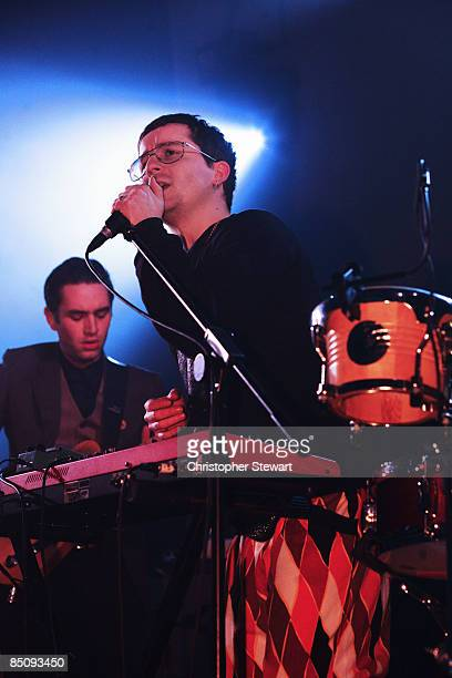 ACADEMY Photo of HOT CHIP and Alexis TAYLOR Alexis Taylor performing on stage