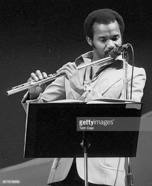 Photo of Hubert Laws performing in Monterey California Circa 1975
