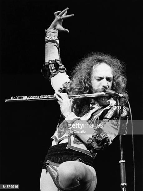 HAVEN Photo of Ian ANDERSON and JETHRO TULL Ian Anderson performing live onstage playing flute codpiece