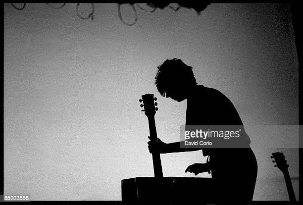 Photo of Ian McCULLOCH and ECHO AND THE BUNNYMEN Ian McCulloch performing in Leeds UK