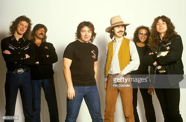 Photo of Ian PAICE and Micky MOODY and David COVERDALE and Jon LORD and Neil MURRAY and WHITESNAKE and Bernie MARSDEN LR Neil Murray Jon Lord Bernie...