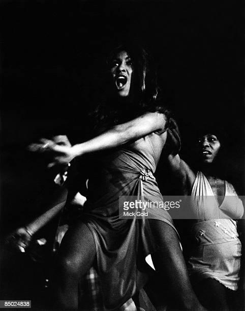 POOL Photo of Ike Tina TURNER and Tina TURNER Ike Tina Turner era performing live onstage