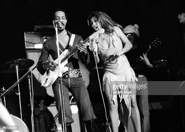 Photo of Ike Tina TURNER Ike Tina Turner 1972 Copenhagen Denmark