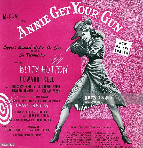 Photo of Irving BERLIN and FILM POSTERS Annie Get Your Gun