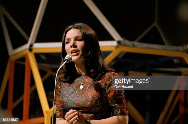 Photo of Isish singer DANA performing live on Top Of The Pops.