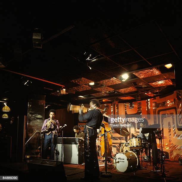 SCOTTS Photo of Jack DEJOHNETTE and Wayne SHORTER and Miles DAVIS Wayne Shorter Chick Corea Miles Davis Dave Holland Jack DeJohnette performing live...