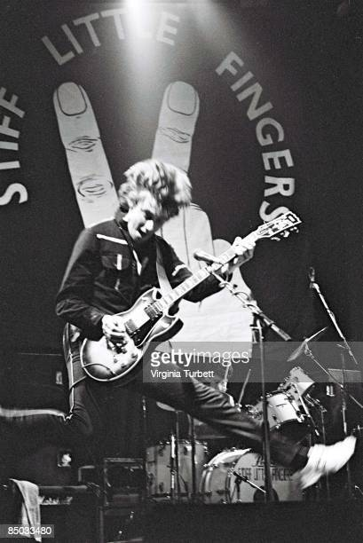Photo of Jake BURNS and Brian FALLOON and STIFF LITTLE FINGERS LR Jake Burns Brian Falloon