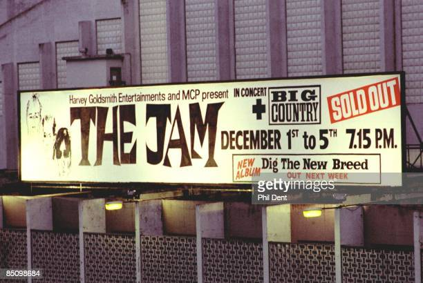 ARENA Photo of JAM Billboard advertising a concert by The Jam
