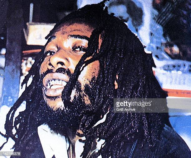 Photo of Jamaican reggae singer Big Youth posed circa 1975