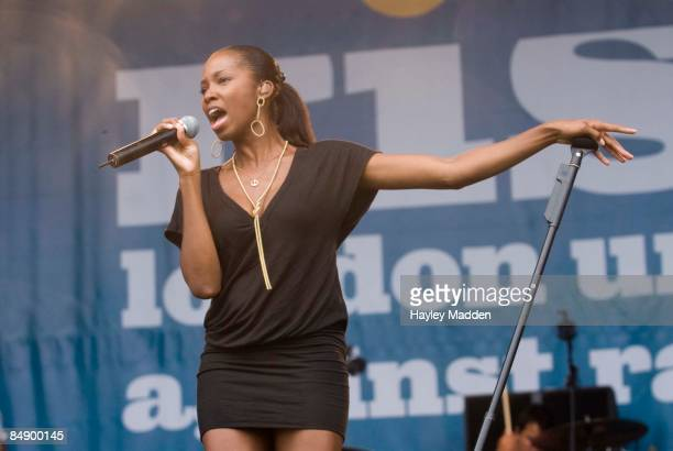 PARK Photo of JAMELIA performing live onstage at Rise Festival
