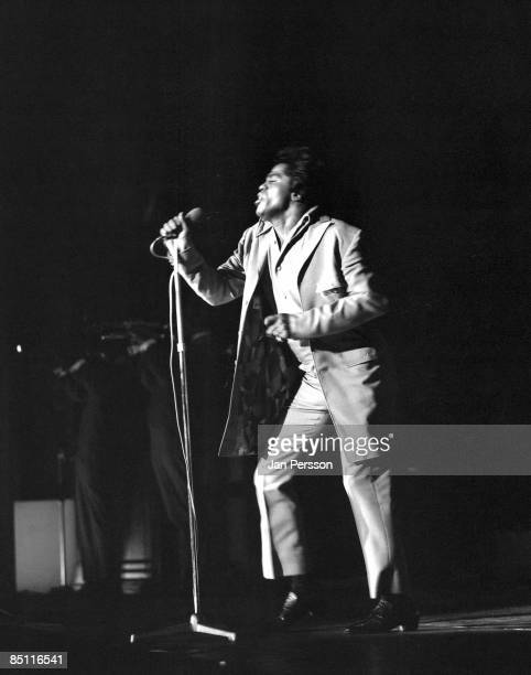 Photo of James BROWN James Brown performing live onstage