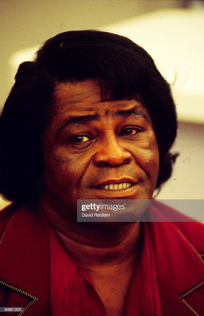 FESTIVAL Photo of James BROWN, posed, headshot