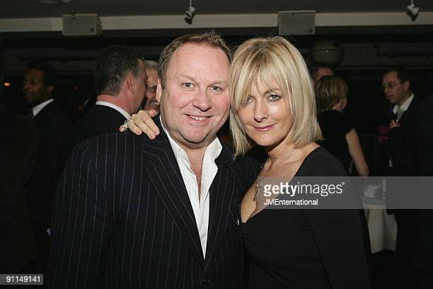 Photo of Jane MOORE and Gary FARROW LR Gary Farrow Jane Moore at Music Industry Trust Dinner