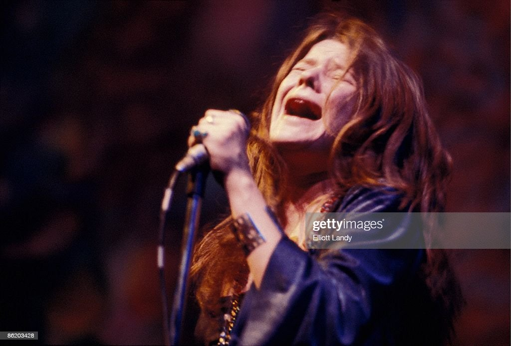 Photo of Janis JOPLIN; Anderson Theatre