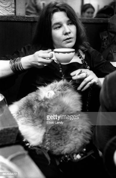 Photo of Janis JOPLIN at Ratner's Restaurant after a Fillmore East Gig