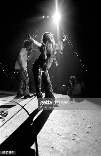 FESTIVAL Photo of Janis JOPLIN Janis Joplin Woodstock Festival Bethel NY 1969