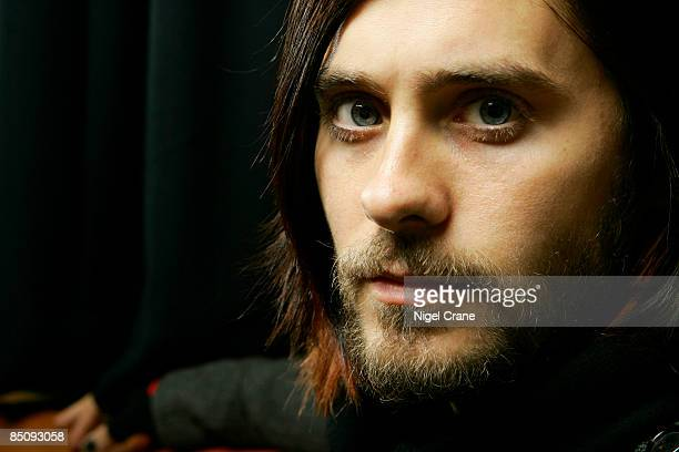 Photo of Jared LETO and 30 SECONDS TO MARS Col Posed of Jared Leto