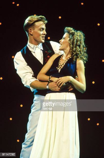 Photo of Jason DONOVAN and Kylie MINOGUE With Jason Donovan
