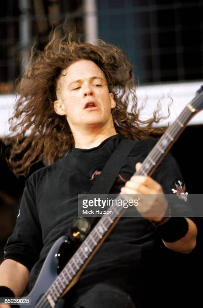 ROCK Photo of Jason NEWSTEAD and METALLICA Jason Newstead performing live onstage
