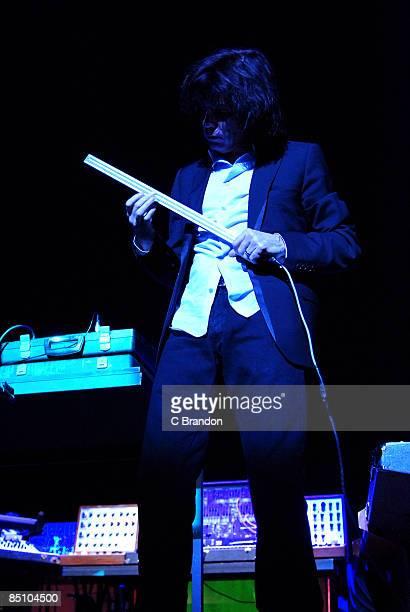 HALL Photo of Jean Michel JARRE Jean Michel Jarre performing on stage keyboards