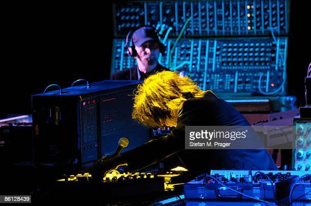 PHILHARMONIE Photo of Jean Michel JARRE Jean Michel Jarre performing on stage keyboards