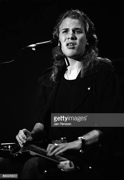 Photo of Jeff Healey 4; Jeff Healey Copenhagen November 1990