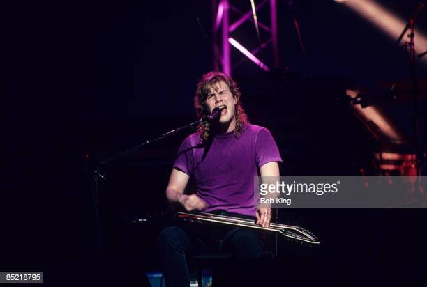 Photo of Jeff HEALEY, Blind guitarist Jeff Healy performing on stage
