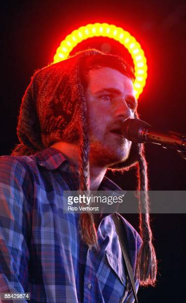 FESTIVAL Photo of Jesse LACEY and BRAND NEW Jesse Lacey performing live on stage