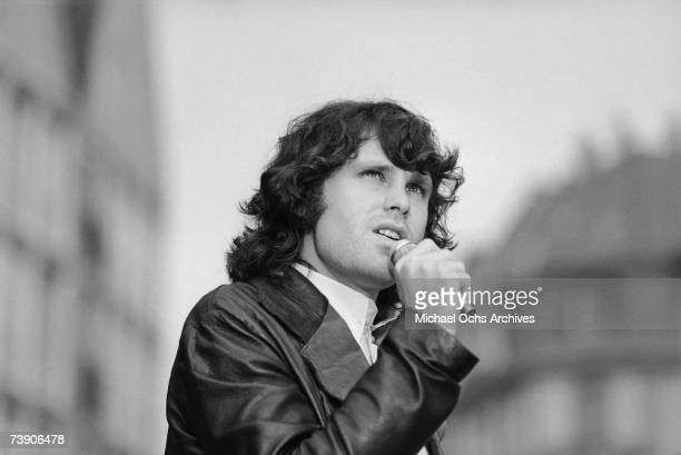 Photo of Jim Morrison September 14 West Germany Frankfurt Doors Jim Morrison