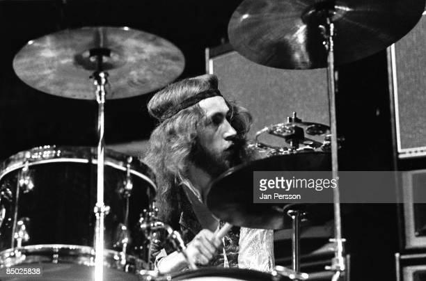 Photo of Jimi Hendrix 16 Drummer Mitch Mitchell KBHallen Copenhagen September 3 1970