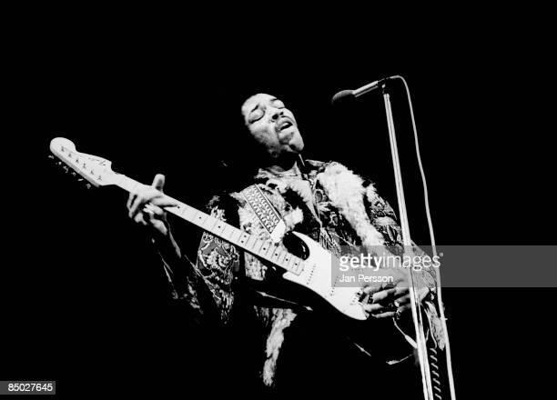 Photo of Jimi Hendrix 6 Jimi Hendrix Falkoner Centret Copenhagen January 10 1969