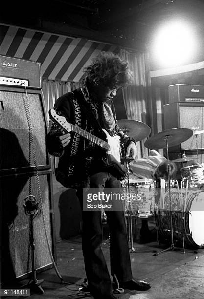 MARQUEE Photo of Jimi HENDRIX Performing live on stage