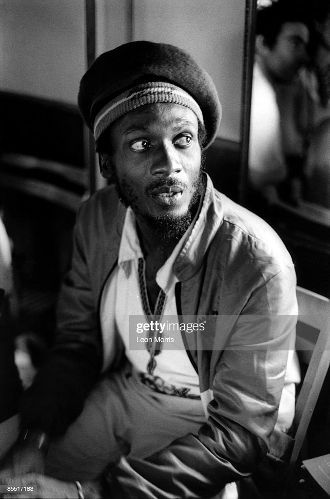Photo of Jimmy CLIFF; Posed portrait
