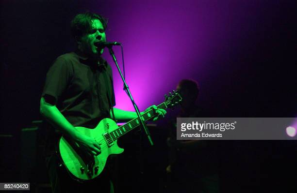 Photo of JIMMY EAT WORLD Jimmy Eat World performing at the Wiltern Theater in Los Angeles CA 17Jan03