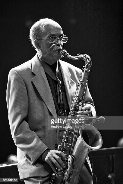 Photo of Jimmy HEATH Saxophone player Jimmy Heath performing on stage