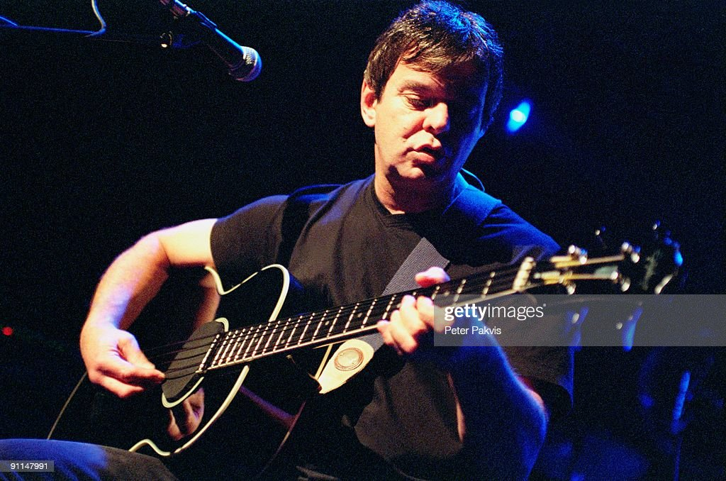 Photo of JJ BURNELL and STRANGLERS; Jean Jacques 'JJ' Burnel performing on stage at the Patronaat in Harlem