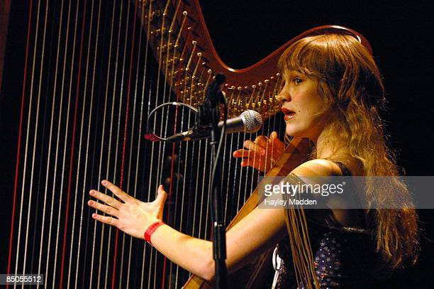 ICA Photo of Joanna NEWSOM Joanna Newsom 4th November 2004 ICA London