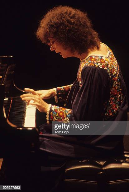 Photo of Joanne Brackeen performing in Monterey California Circa 1980